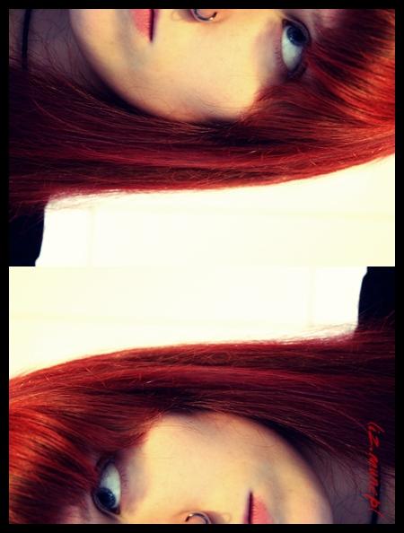 neue Haare.