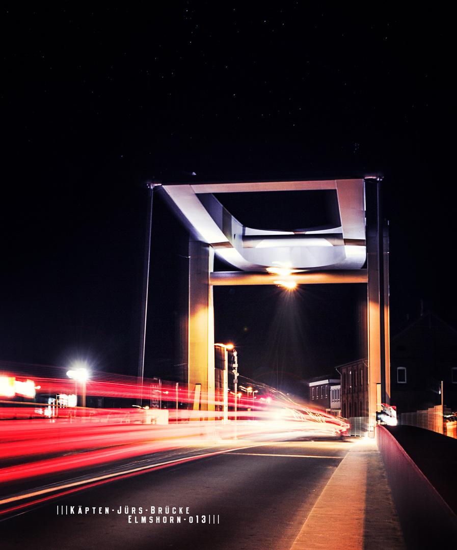 Neue Käpten Jürs Klappbrücke in Elmshorn