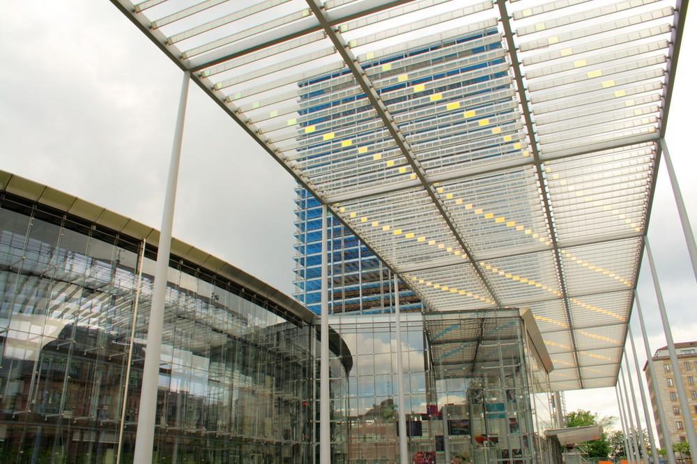 Neue Konzernzentrale und Gebäude W11