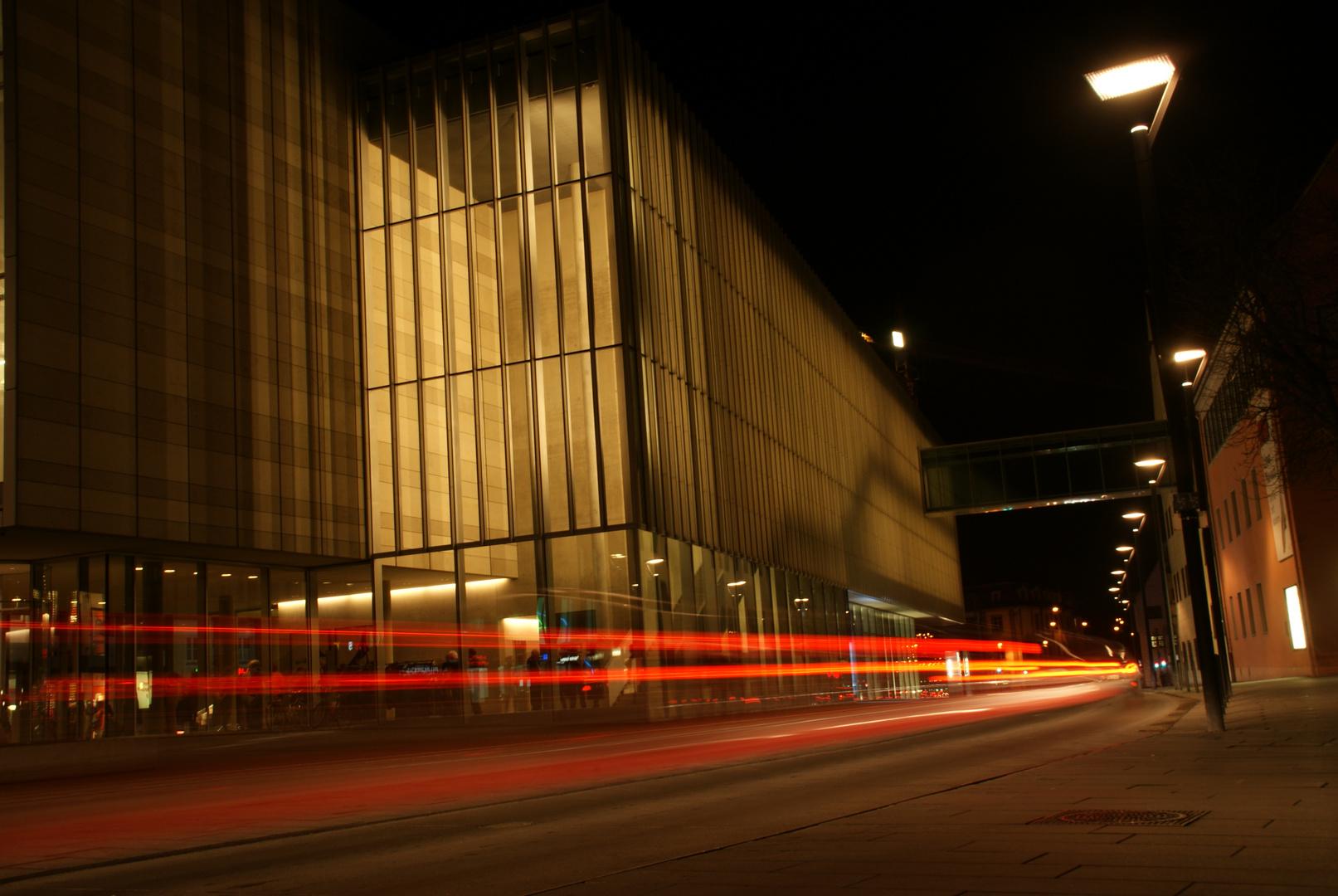 Neue Mitte Ulm - bei Nacht