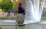 Neue Springbrunnenfiguren  ..