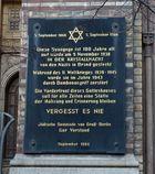 Neue Synagoge Berlin -Tafel-