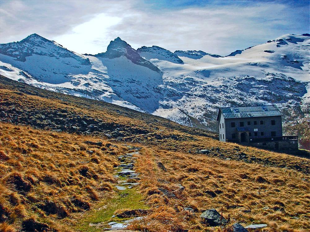 Neue Thüringer Hütte, Habachtal, Hohe Tauern