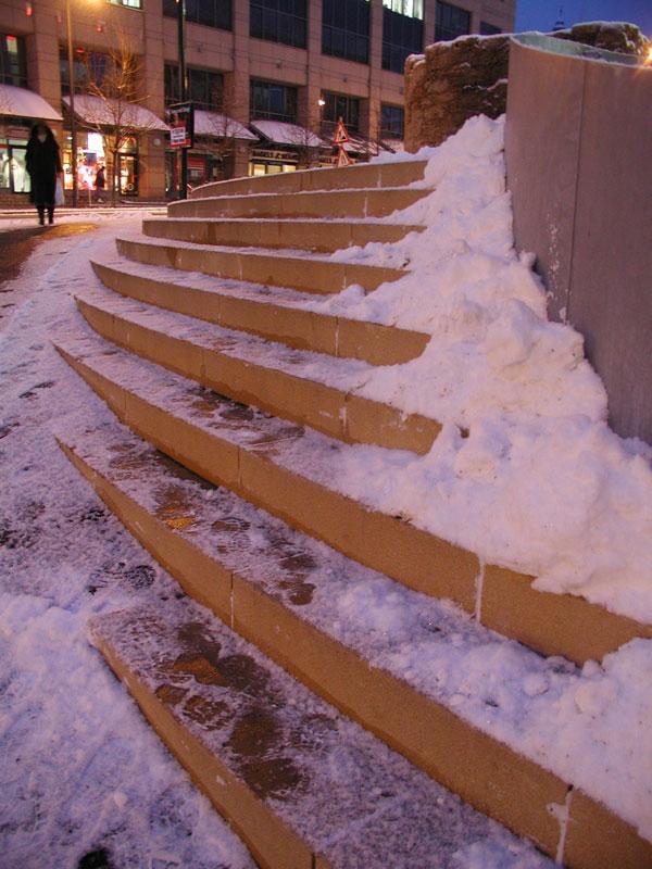 Neue Treppe
