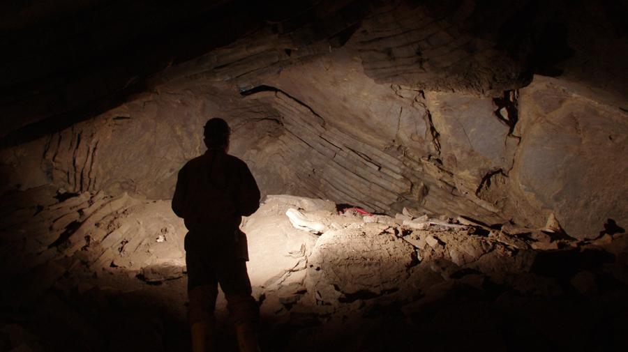 Neuentdeckung einer Höhle.