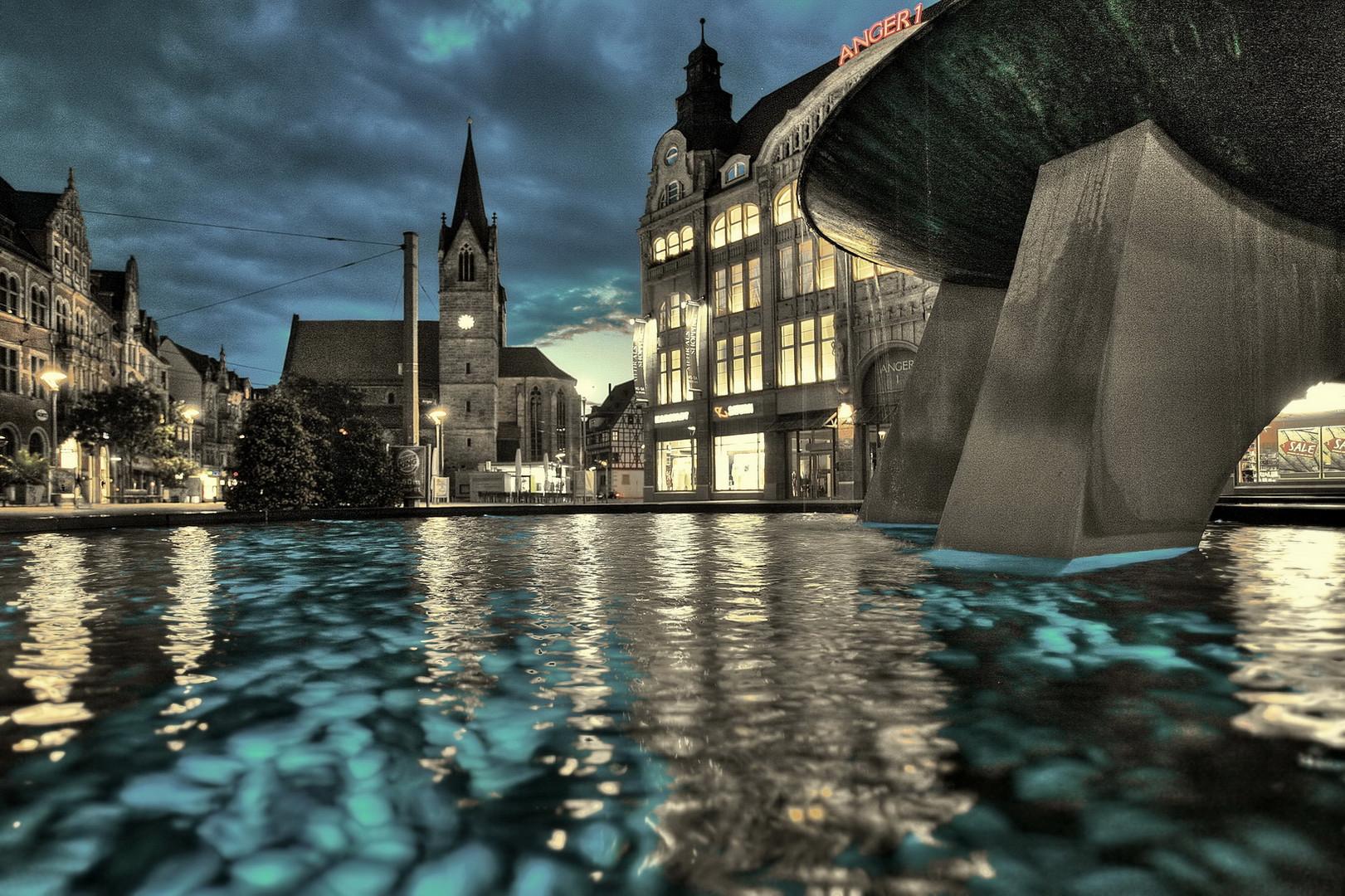 Neuer Angerbrunnen in Erfurt