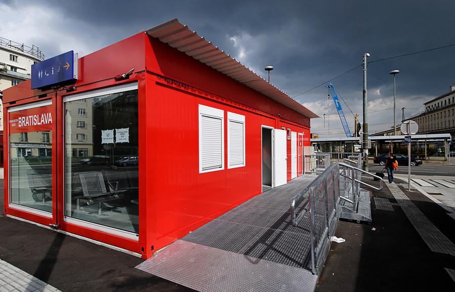 Neuer Busbahnhof - Wien Südtiroler Platz