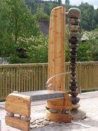 neuer Dorfbrunnen