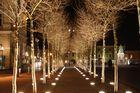 Neuer Platz in Klagenfurt am Abend