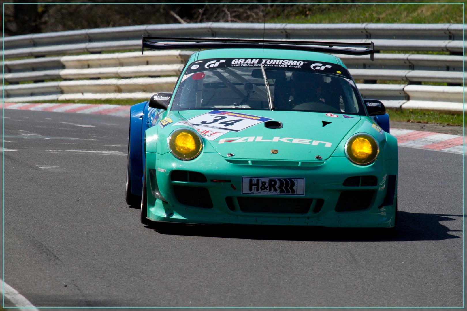 Neuer Porsche GT3 - R - VLN
