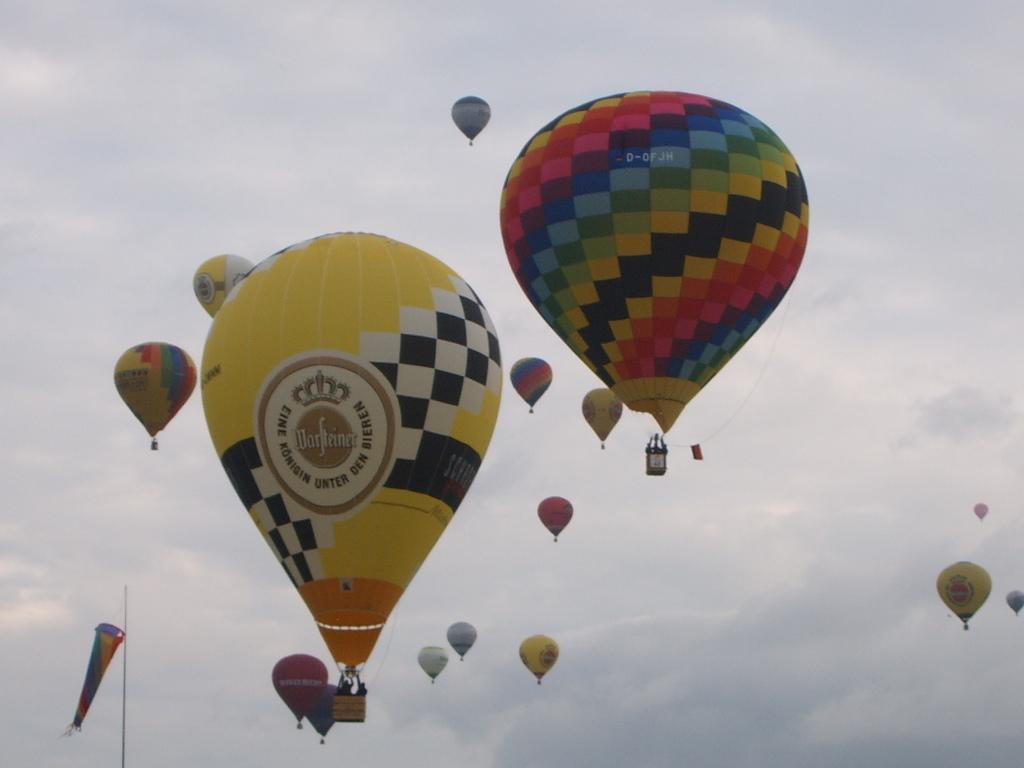Neuer Schröder Sportballon (getauft bei der WIM 2009)