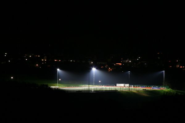 neuer Sportplatz