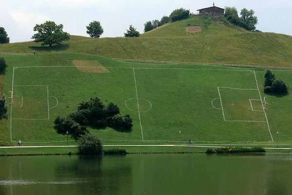 Neuer Trainingsplatz für den FC Bayern