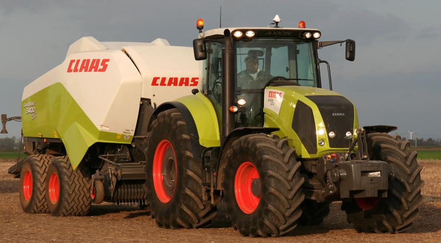neuer traktor axion von claas foto bild industrie und. Black Bedroom Furniture Sets. Home Design Ideas