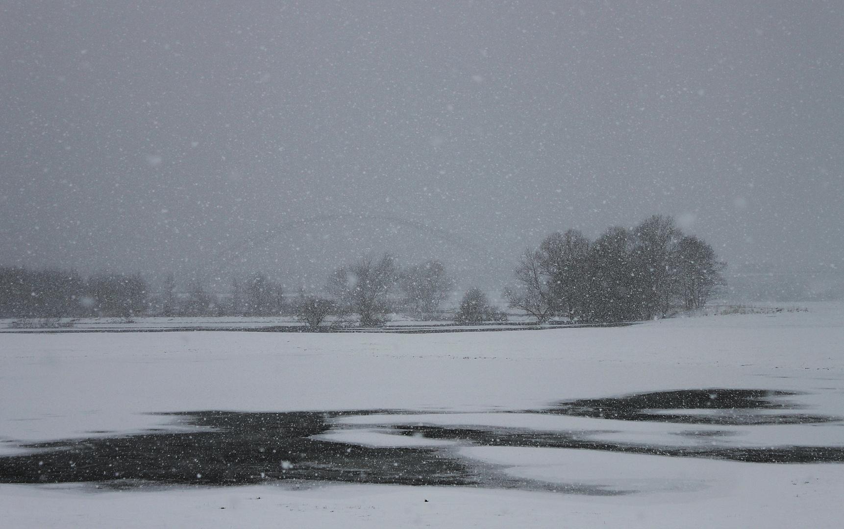 Neuer Wintereinbruch .....