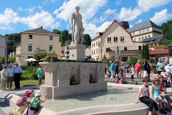 Neueröffnung Stadtbrunnen
