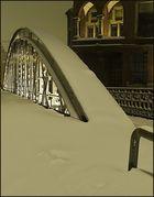 Neuerwegsbrücke im Schnee