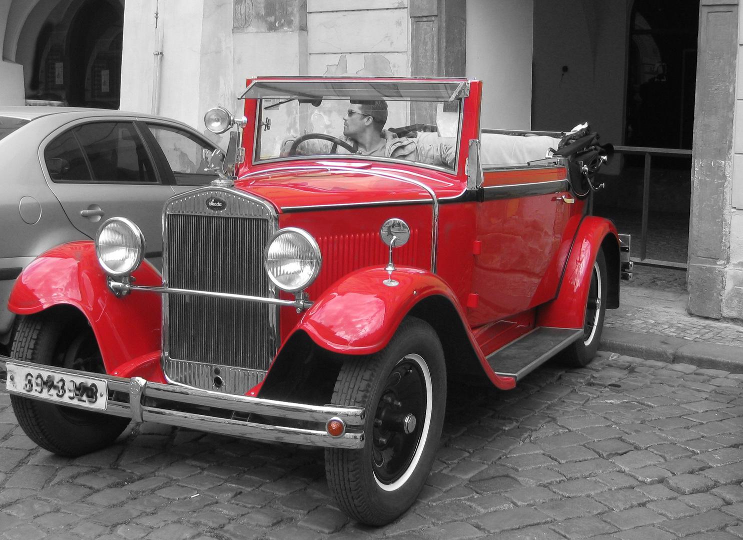 neues Auto....altes Auto...