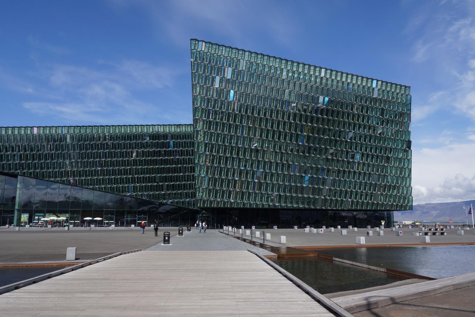 Neues Konzerthaus HARPA in Reykjavik