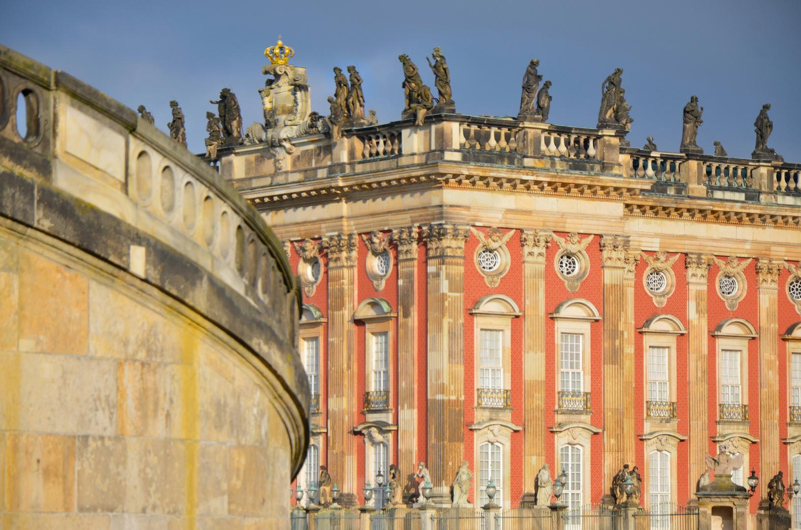 Neues Palais Potsdam, Detailansicht