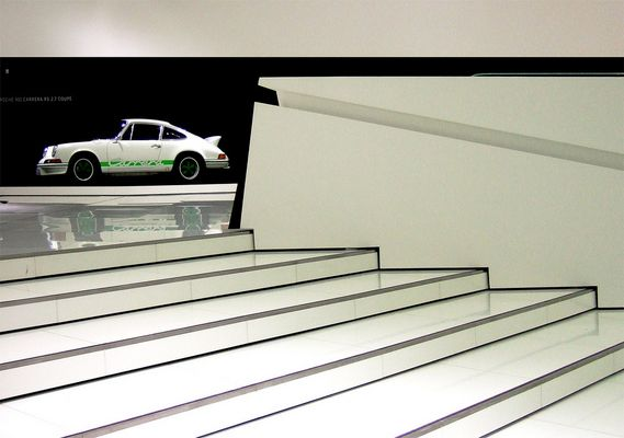 Neues Porsche Museum; 911 Carrera RS