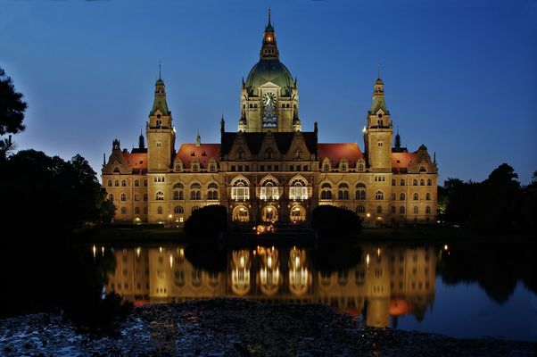 - Neues Rathaus Hannover -