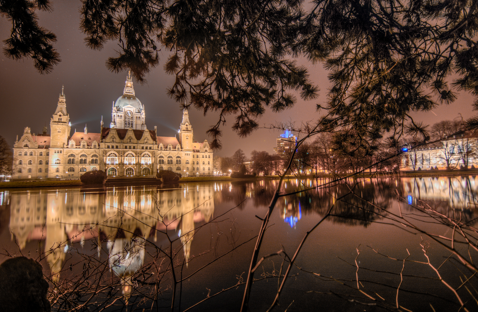 Neues Rathaus Hannover HDR