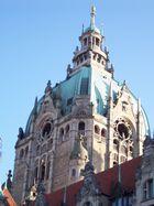 Neues Rathaus in Hannover: Turmansicht