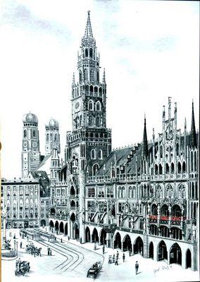 """""""Neues"""" Rathaus München"""