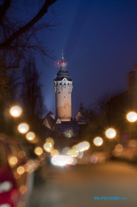 Neues Rathaus zur Leipzig - Von N-W.