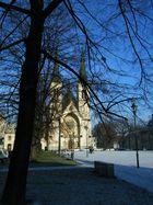 neugotische Kirche in Ostrava, Ost-Mähren (Tschechien)