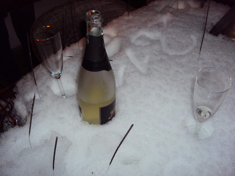 Neujahr 2011 um 0.12 Uhr