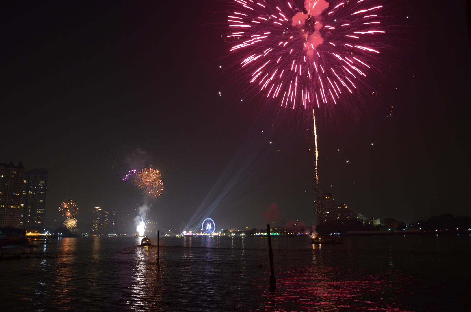 Neujahr in Bangkok