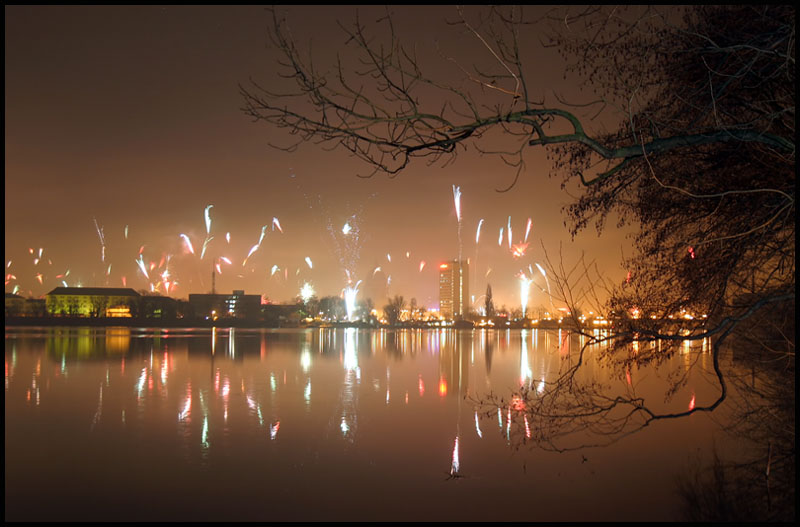 Neujahr in Potsdam