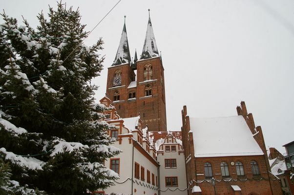 Neujahr Stendal Alter Markt