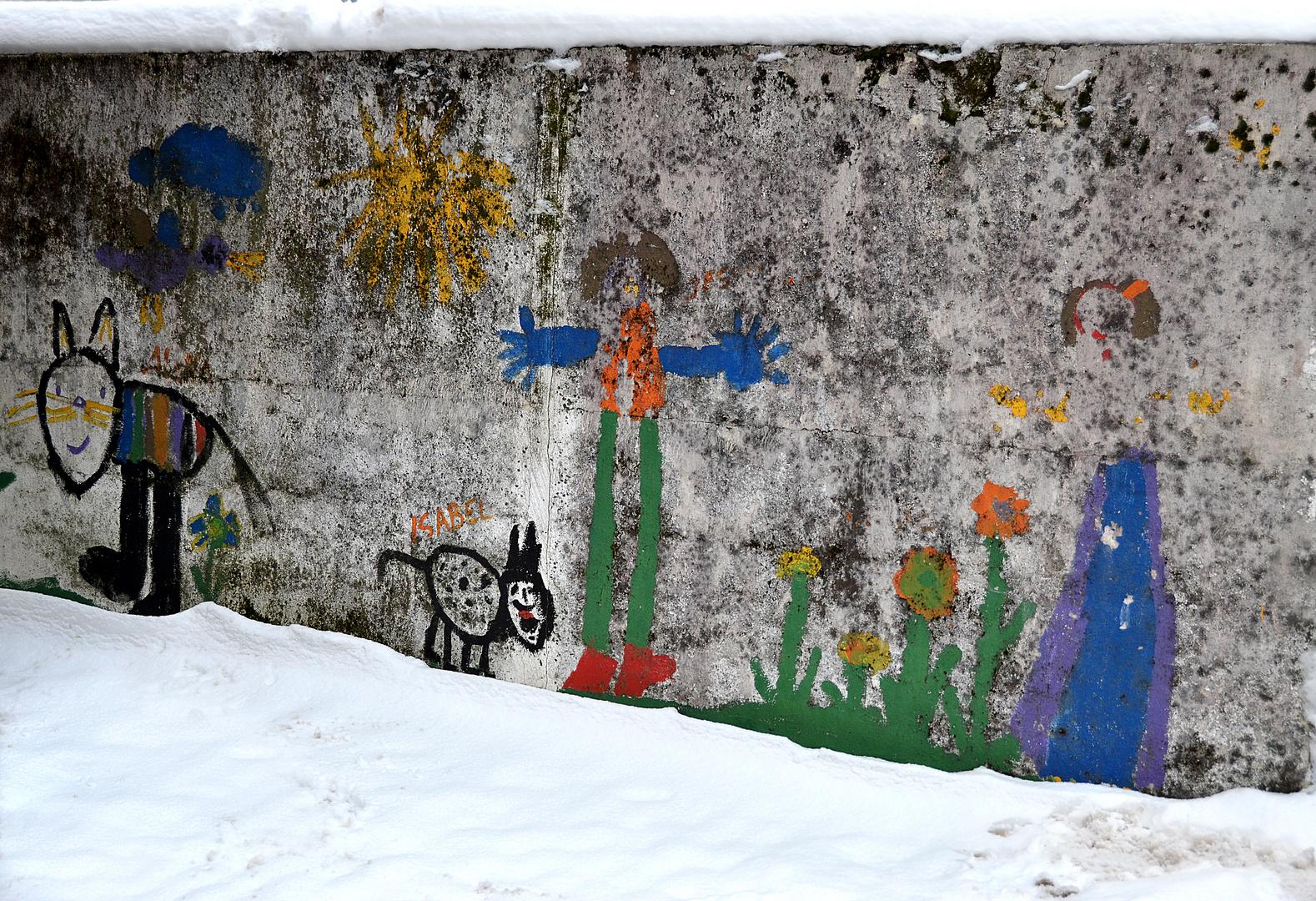Neujahrs-Morgen in Heddesheim