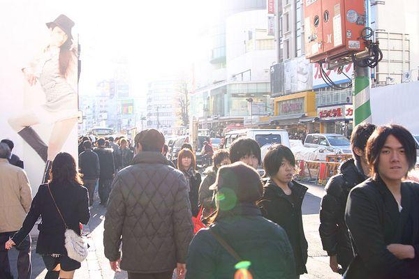 Neujahrseinkauf in Omotesando