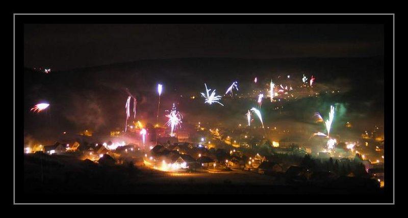 Neujahrsfeuerwerk 2004