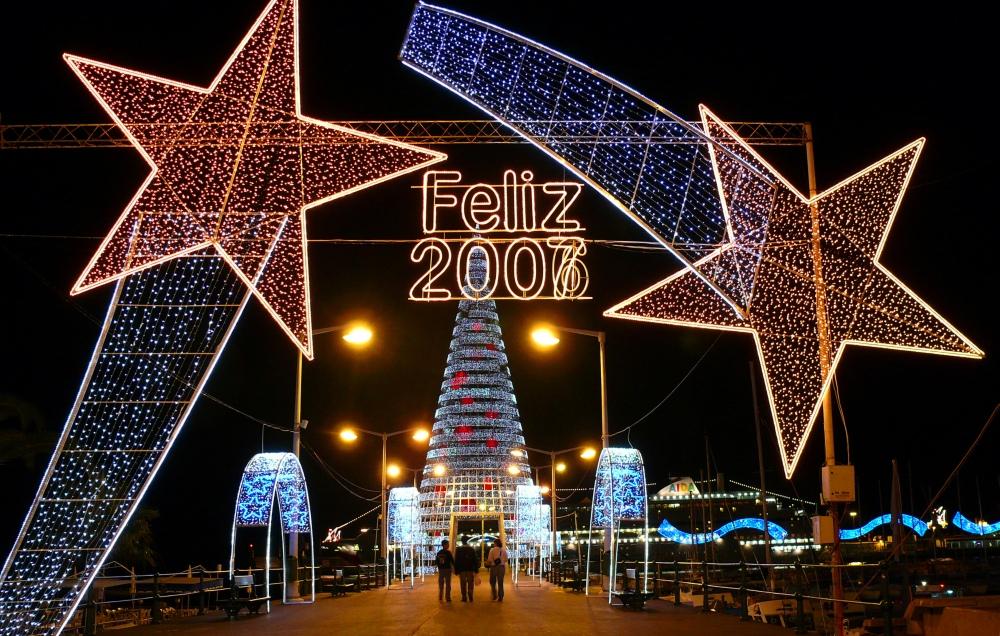 Neujahrsgruß von Madeira