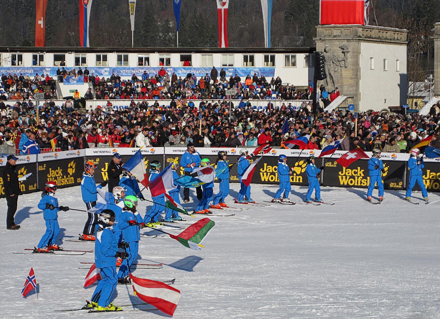 Neujahrsskispringen in Garmisch 2011