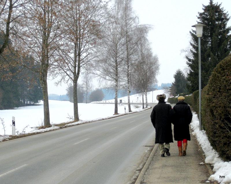 Neujahrsspaziergang