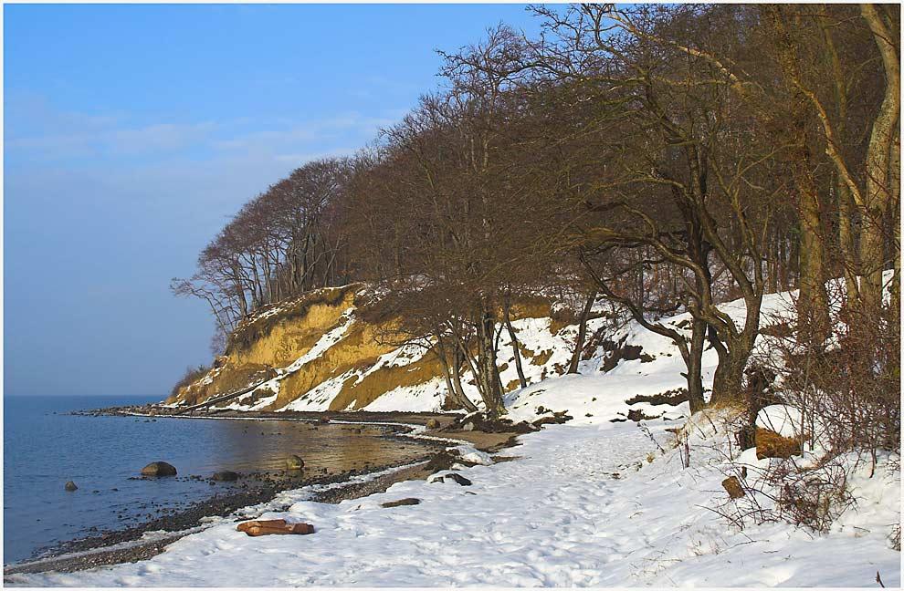 Neujahrsspaziergang am Jasmunder Bodden