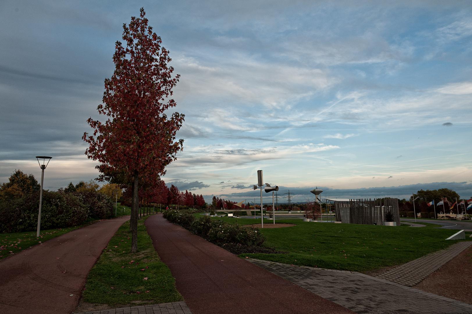 Neulandpark in Leverkusen