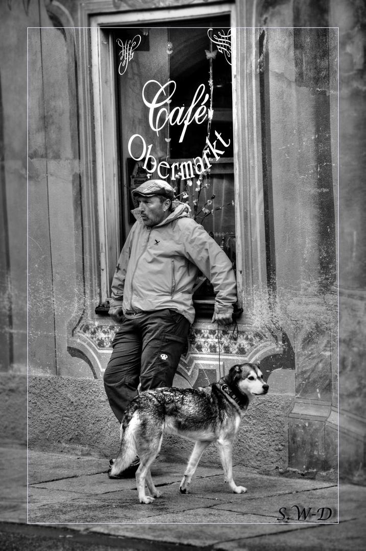 Neulich am Cafe Obermarkt