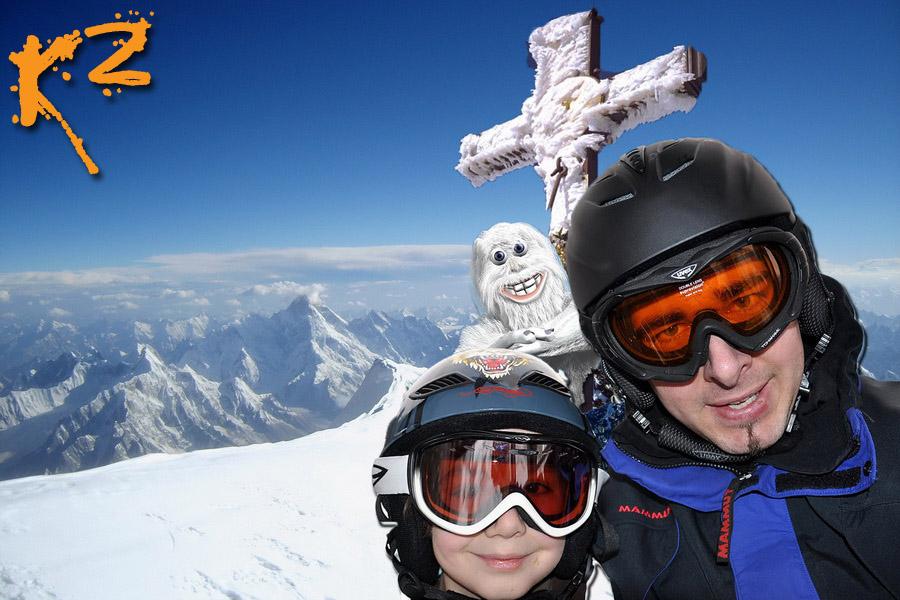 Neulich am K2
