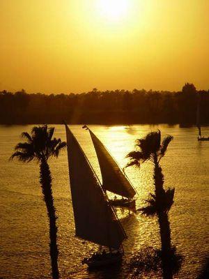 Neulich am Nil...