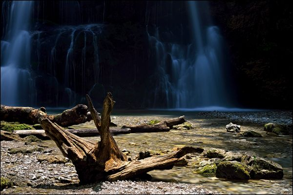 Neulich am Wasserfall #2