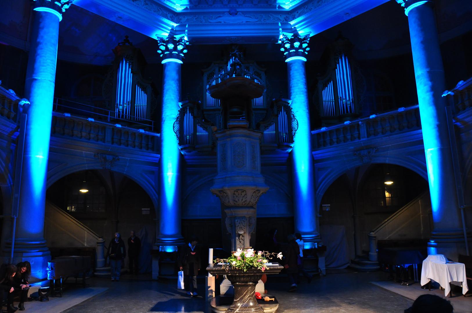 Neulich an der Museumsnacht in Bern