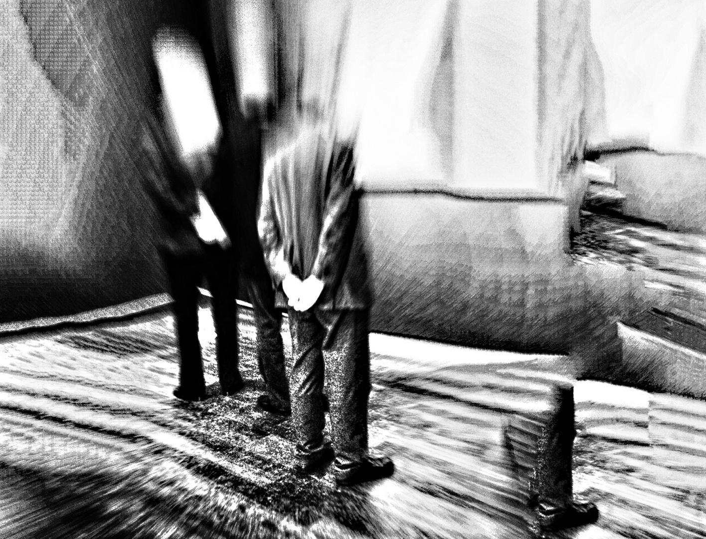 neulich auf der Surrealistenausstellung