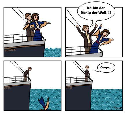 neulich auf der Titanic...
